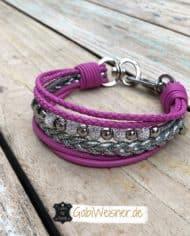 hundehalsband_pink_silber_strass_2
