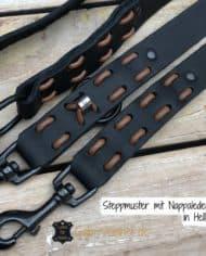Steppmuster-mit-Nappalederband-in-Hellbraun
