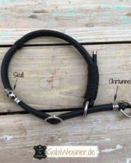 Zugstopp-Hundehalsband-Leder-rundgenäht-ohrtunnel-skull
