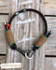 Hundehalsband-ein-Strang-rund-geflochten_-Orange_1