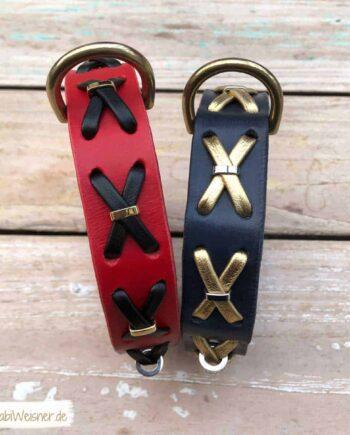 Hundehalsband mit Kreuz
