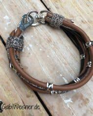 Luxus-Hundehalsband-5-cm-breit.-Dekoriert-mit-Ohrtunnel-2