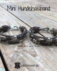 Mini-Hundehalsband-Leder-Taupe-Schlange-Ohrtunnel-1