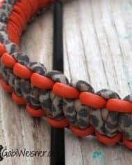 Hundehalsband-Leopard-Leder-2,5-cm-breit-geknotet_2