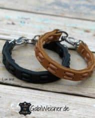 Hundehalsband-Leder-2-cm-breit-Farbe-nach-Wunsch-in-Schwarz,-Natur-oder-Braun-wählbar_1