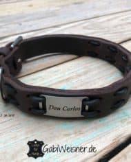 Hundehalsband-mit-Namen-und-Telefonnummer_braun_don-Carlos_1