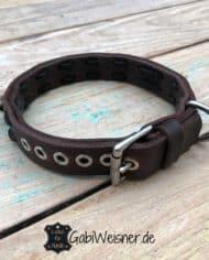 Hundehalsband-mit-Namen-und-Telefonnummer_braun_don-Carlos_3