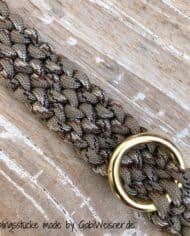 Hundehalsband-2-cm-breit-Paracord-tweed-taupe-1