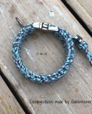 Hundehalsband-Klickverschluss-2-cm-breit-HELLBLAU-1