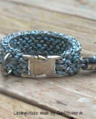 Hundehalsband-Klickverschluss-2-cm-breit-HELLBLAU-2