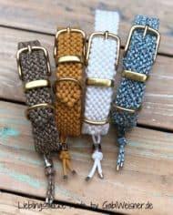 Hundehalsband-mit-Messingbeschlag-Paracord-3-cm-breit-