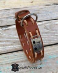 Hundehalsband-mit-Namen-Leder-25-mm-breit-tom