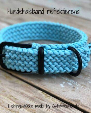 Reflektierendes Hundehalsband 3 cm breit