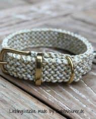 hundehalsband_3_cm_breit_weiß_gold_Metallic-Glitter-White-&-Gold-Tracer-X_1