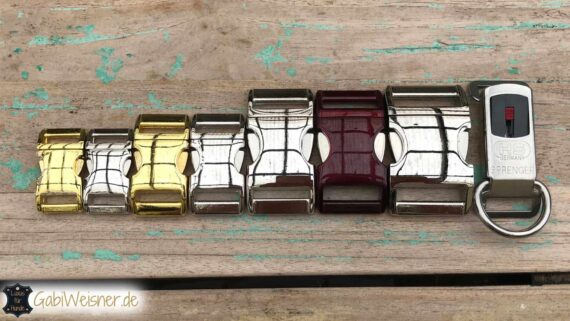 Klickverschluss-Hundehalsband-Alu-Max