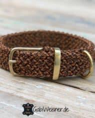Hundehalsband-Leopard-Paracord-3-cm-breit-stufenlos-verstellbar-1