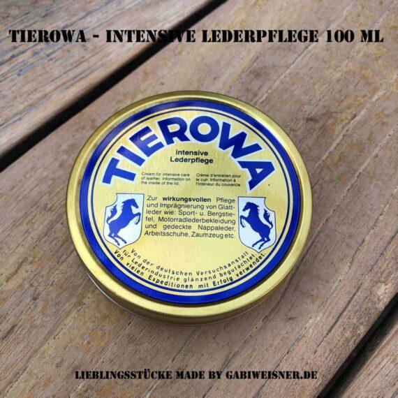 TIEROWA - intensive Lederpflege 100 ml