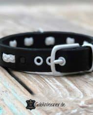 hundehalsband-leder-3-cm-breit-schwarz-weiß-1