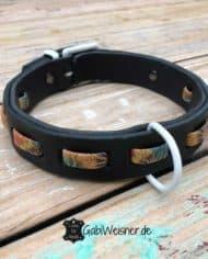 Hundehalsband-Dschungel-Look