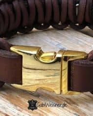 Hundehalsband-mit-Klickverschluss-gold