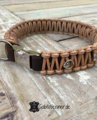 Hundehalsband-mit-Klickverschluss-Leder-30-mm-breit-für-kleine-Hunde-braun-natur-1