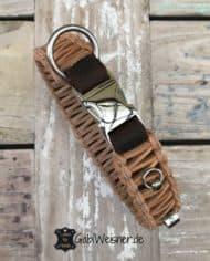 Hundehalsband-mit-Klickverschluss-Leder-30-mm-breit-für-kleine-Hunde-braun-natur-2
