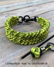 Hundehalsband-in-Schwarz-Gelb-2