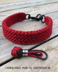 Hundehalsband-in-Schwarz-Rot-1