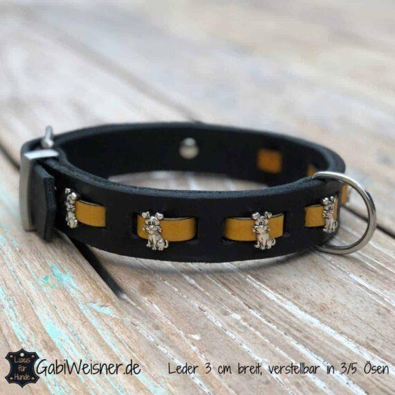 Halsband Hund Breit