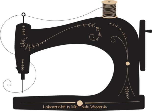 Nähmaschine Lederwerkstatt Köln Gabi Weisner