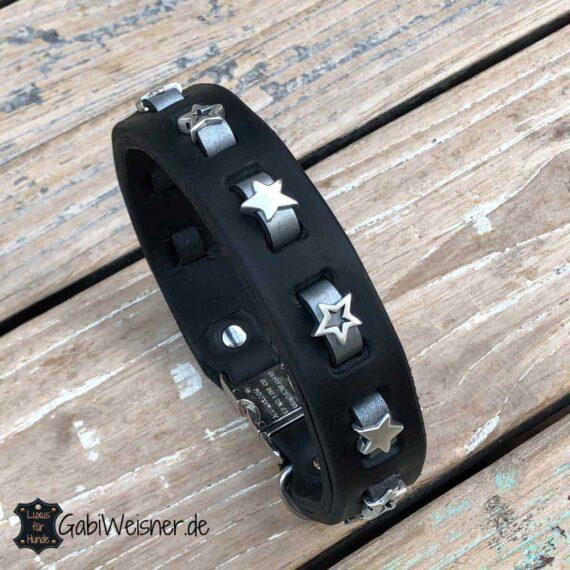 Hundehalsband mit Sternen