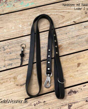 Hundeleine-mit-Handschlaufe-Leder-2-cm-breit-1,6-m-lang