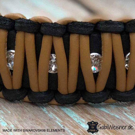 Hundehalsband mit Swarovski Elements