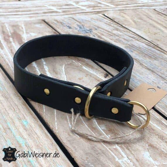 Sofort lieferbar Zugstopp Halsband, 55 cm Kopf- 50 cm Halsumfang, 35 mm breit