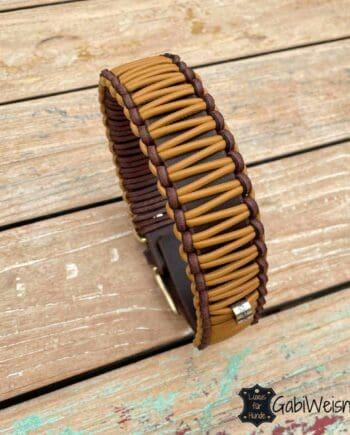 Hundehalsband Leder 35 mm breit