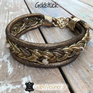 hundehalsband-goldstuck-leder-5-cm-breit-fur-grosse-hunde
