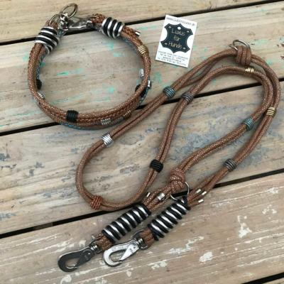 Hundehalsband-Leder-Rochen-Hundeleine-1