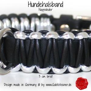 Hundehalsband-Lederhalsband-Nappaleder-3-cm-breit-2