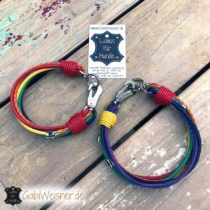 Hundehalsband-Regenbogen-3-cm-breit-Leder-7-Farben-Luxus-kleine-Hunde-Made-with-Love-in-Germany-1
