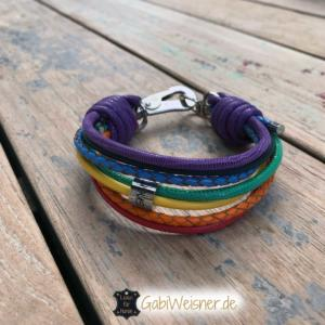 Hundehalsband-Regenbogen-3-cm-breit-Leder-7-Farben-Luxus-kleine-Hunde-Made-with-Love-in-Germany-3