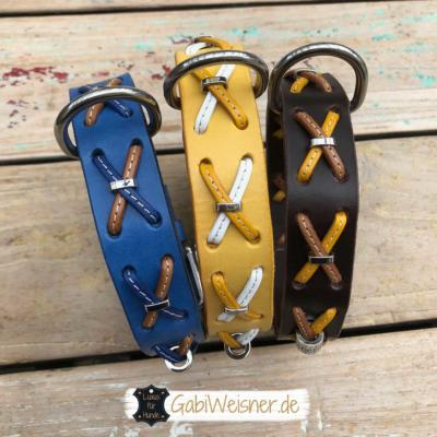 Hundehalsband-Rindsleder-mit-Kreuzen-1