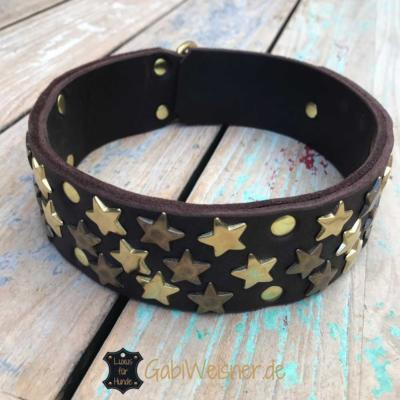 Hundehalsband-Sternenfänger-Messing-3