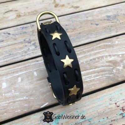 Lederhalsband-mit-Sternen-und-Messing-Beschlag-3cm-breit