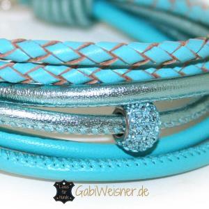 Mini-Hundehalsband-mit-Strass-Nappaleder-in-tuerkis-2