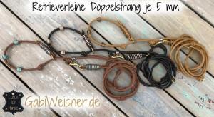Original Doppelstrangleine Retrieverleine
