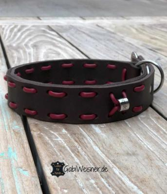 Zugstopp-Hundehalsband-Leder-4-cm-breit-für-große-Hunde-3