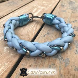 hundehalsband-hellblau-metallic-7