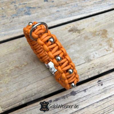 hundehalsband-kleine-hunde-leder-orange