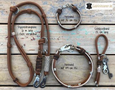 hundehalsband leine schlüsselband set 1 (1)